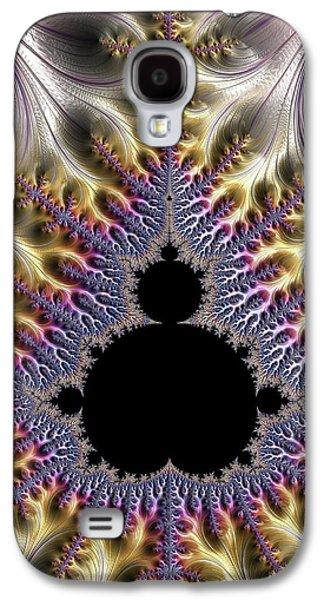 Mandelbrot Fractal Galaxy S4 Case by Alfred Pasieka