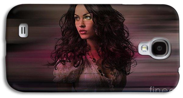 Megan Fox  Galaxy S4 Case by Marvin Blaine