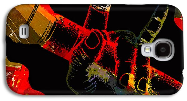 Microphone Collection Galaxy S4 Case by Marvin Blaine