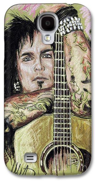 Nikki Sixx Galaxy S4 Case