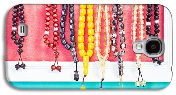 Prayer Beads Galaxy S4 Case by Tom Gowanlock