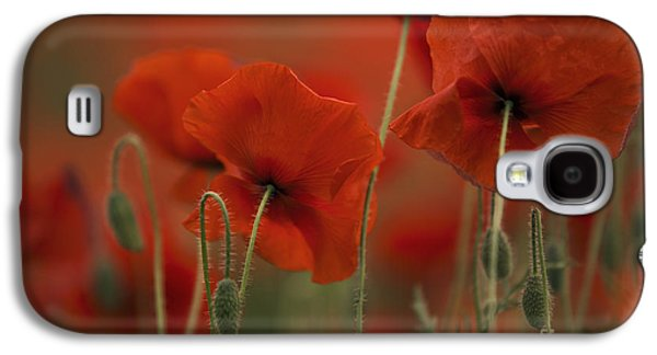Red Galaxy S4 Case by Nailia Schwarz