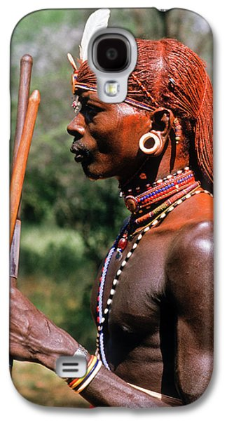 Samburu Warrior Galaxy S4 Case by Michele Burgess