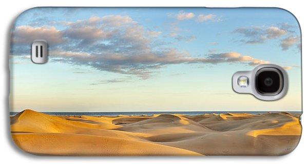 Sand Dunes In A Desert, Maspalomas Galaxy S4 Case