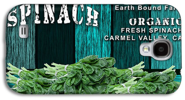 Spinach Patch Galaxy S4 Case by Marvin Blaine