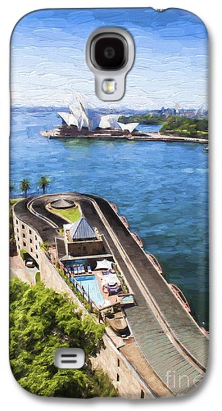 Sydney Harbour Galaxy S4 Case by Avalon Fine Art Photography