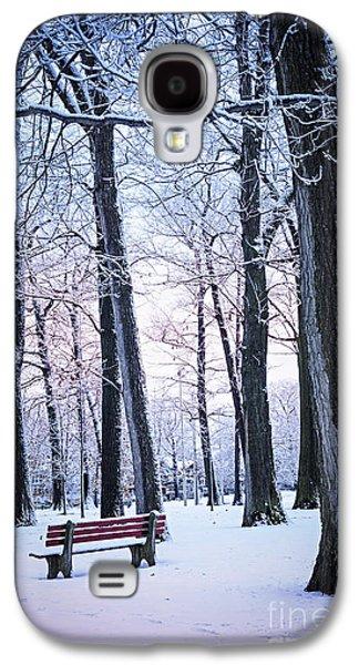 Winter Park Galaxy S4 Case by Elena Elisseeva