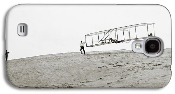Wright Brothers Kitty Hawk Glider Galaxy S4 Case by Library Of Congress