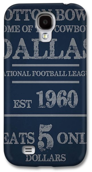 Dallas Cowboys Galaxy S4 Case by Joe Hamilton