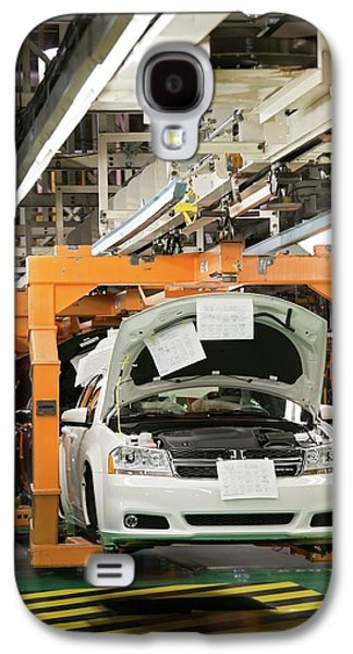 Car Assembly Production Line Galaxy S4 Case by Jim West