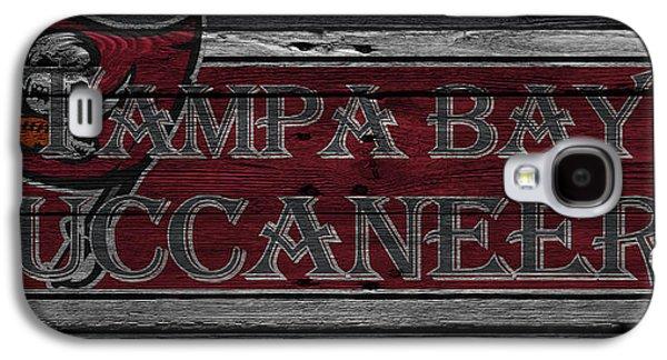 Tampa Bay Buccaneers Galaxy S4 Case by Joe Hamilton