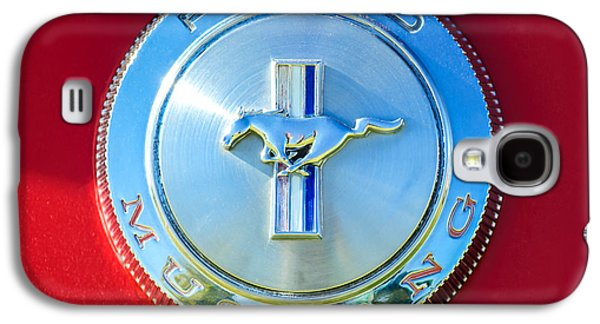 1966 Ford Mustang Emblem Galaxy S4 Case by Jill Reger