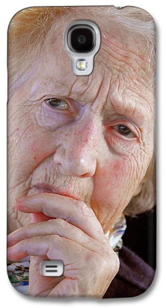 Alzheimer's Patient Galaxy S4 Case by Tony Craddock