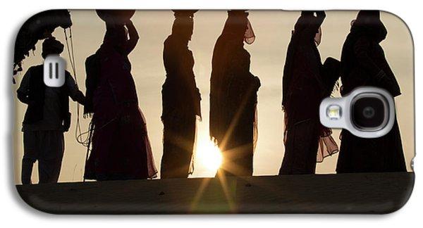 Asia, India, Rajasthan, Manvar, Desert Galaxy S4 Case