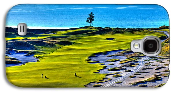 #5 At Chambers Bay Golf Course - Location Of The 2015 U.s. Open Tournament Galaxy S4 Case by David Patterson