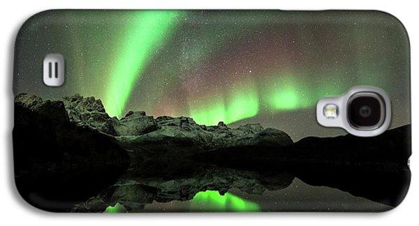 Aurora Borealis Galaxy S4 Case
