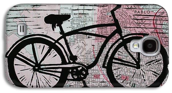 Bike 9 Galaxy S4 Case by William Cauthern