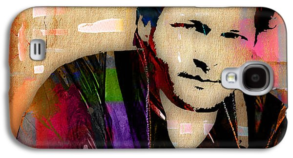 Blake Shelton Collection Galaxy S4 Case by Marvin Blaine