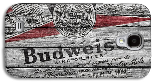 Budweiser Galaxy S4 Case by Joe Hamilton