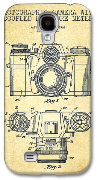 Camera Patent Drawing From 1962 Galaxy S4 Case by Aged Pixel