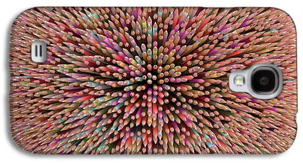 Colouring Pencils Galaxy S4 Case by Ktsdesign