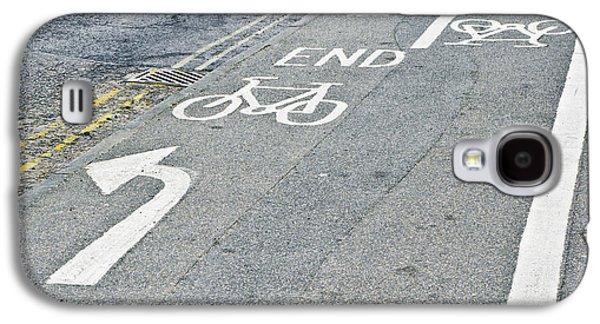Cycle Path Galaxy S4 Case by Tom Gowanlock