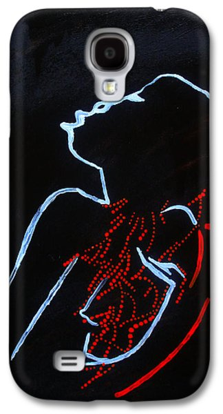 Dinka Silhouette - South Sudan Galaxy S4 Case