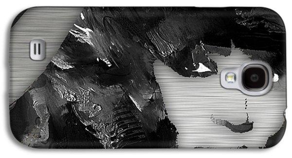 Empires Naomi Campbell Camilla Galaxy S4 Case by Marvin Blaine