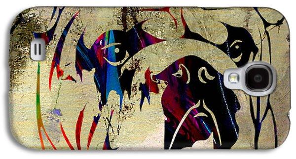 English Bulldog Galaxy S4 Case by Marvin Blaine