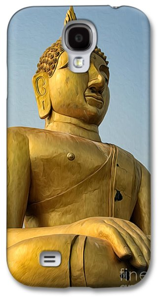 Golden Buddha Galaxy S4 Case by Adrian Evans