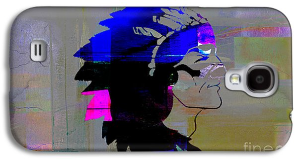 Indian Chief Galaxy S4 Case by Marvin Blaine