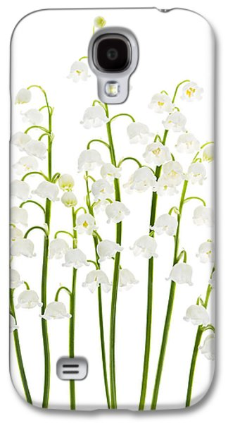 Lily Galaxy S4 Case - Lily-of-the-valley Flowers  by Elena Elisseeva