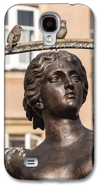 Mermaid Statue In Warsaw. Galaxy S4 Case