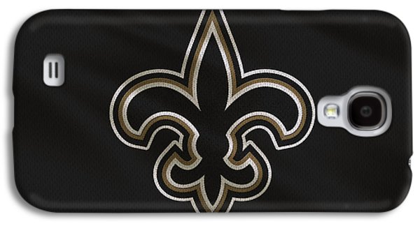 New Orleans Saints Uniform Galaxy S4 Case by Joe Hamilton