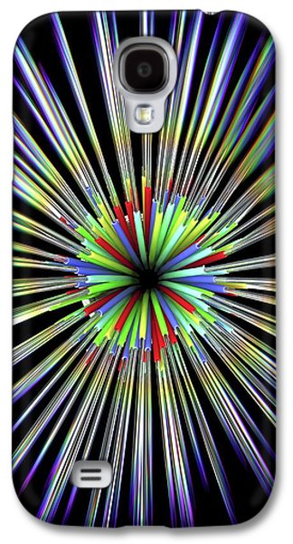 Optical Fibre Cable Galaxy S4 Case by Alfred Pasieka