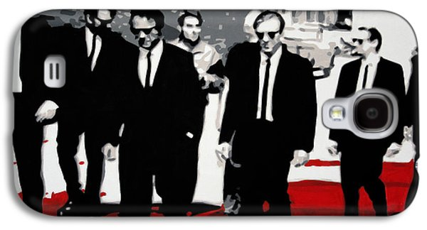 Reservoir Dogs Galaxy S4 Case by Luis Ludzska