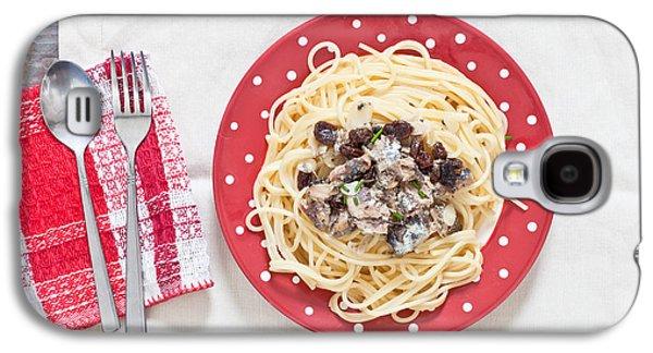 Sardines And Spaghetti Galaxy S4 Case by Tom Gowanlock