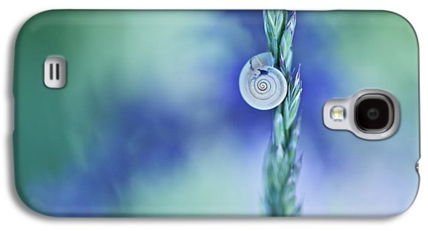 Snail On Grass Galaxy S4 Case by Nailia Schwarz