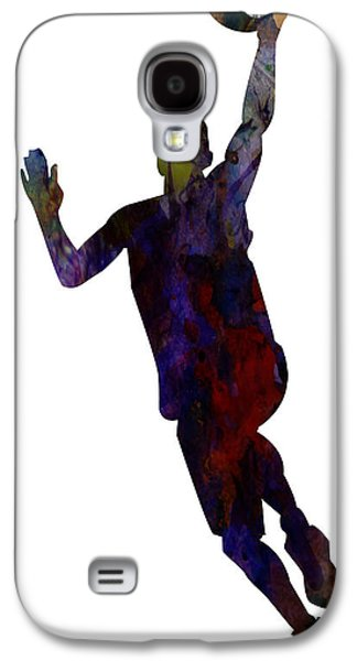 The Basket Player Galaxy S4 Case by Celestial Images