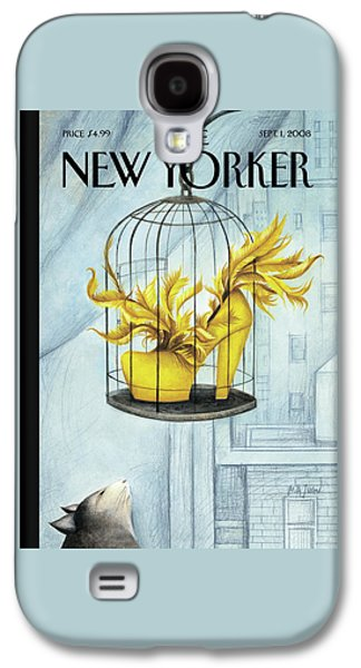 New Yorker September 1st, 2008 Galaxy S4 Case