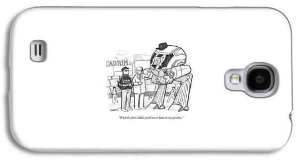 With The Jeter 2000 Galaxy S4 Case by Benjamin Schwartz