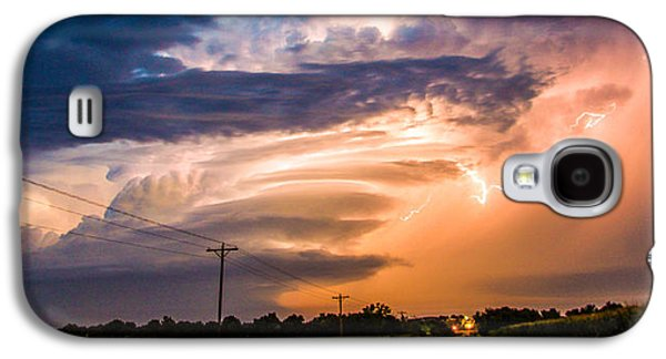 Nebraskasc Galaxy S4 Case - Wicked Good Nebraska Supercell by NebraskaSC