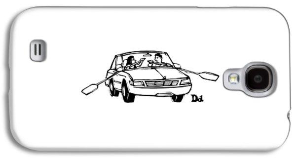 New Yorker September 21st, 2009 Galaxy S4 Case by Drew Dernavich