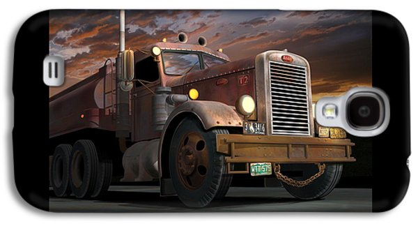 '55 Peterbilt Sunset Galaxy S4 Case