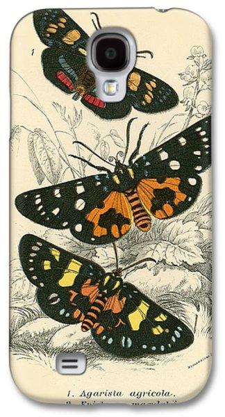 Butterflies Galaxy S4 Case by English School