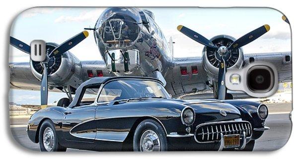 1957 Chevrolet Corvette Galaxy S4 Case