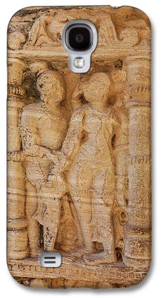 Bas Relief Chittaurgarh Citadel 6th Galaxy S4 Case by Tom Norring