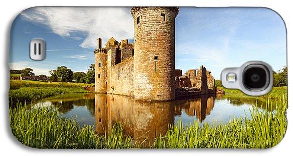 Castle Galaxy S4 Case - Caerlaverock Castle by Grant Glendinning