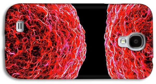 Human T-cell Leukemia Virus Galaxy S4 Case by Mehau Kulyk