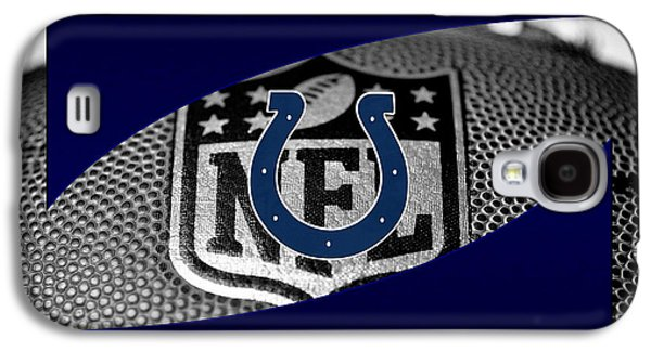 Indianapolis Colts Galaxy S4 Case by Joe Hamilton